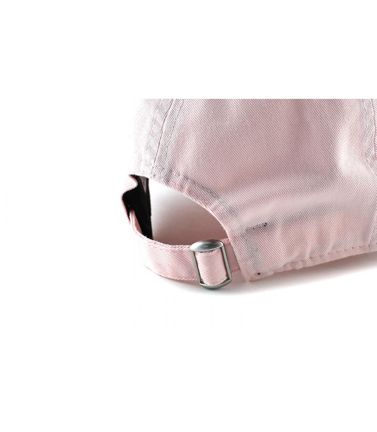 Détails Cap NY Sunbleach Unstructured pink - image 5