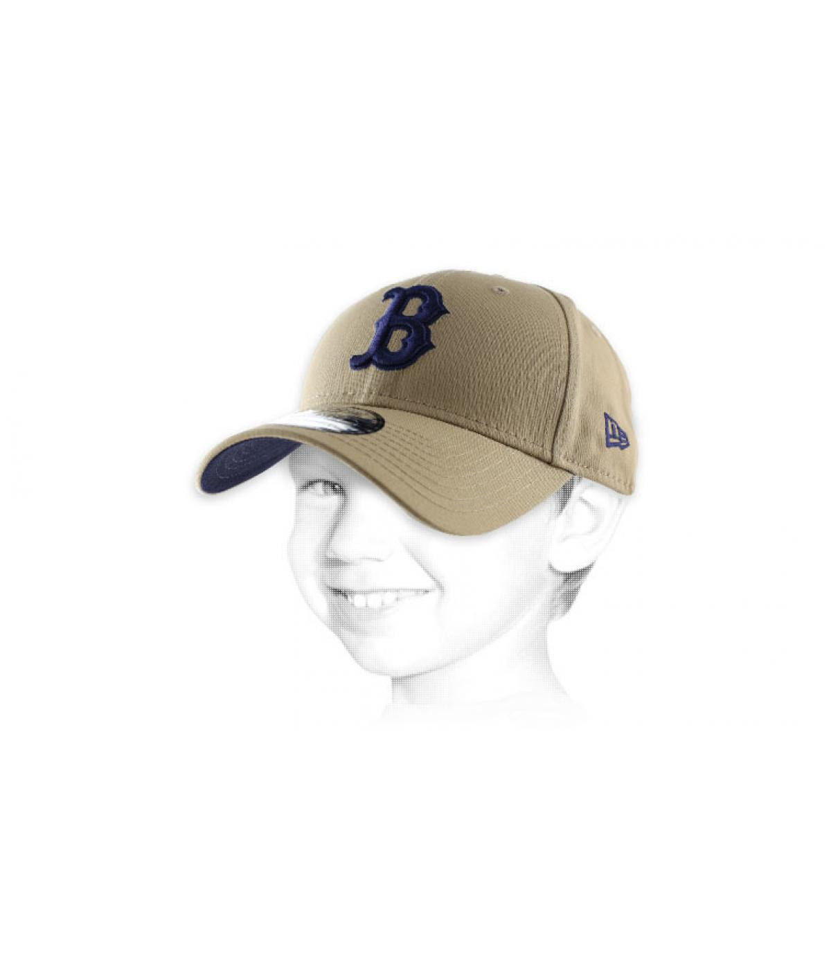kid B camel cap