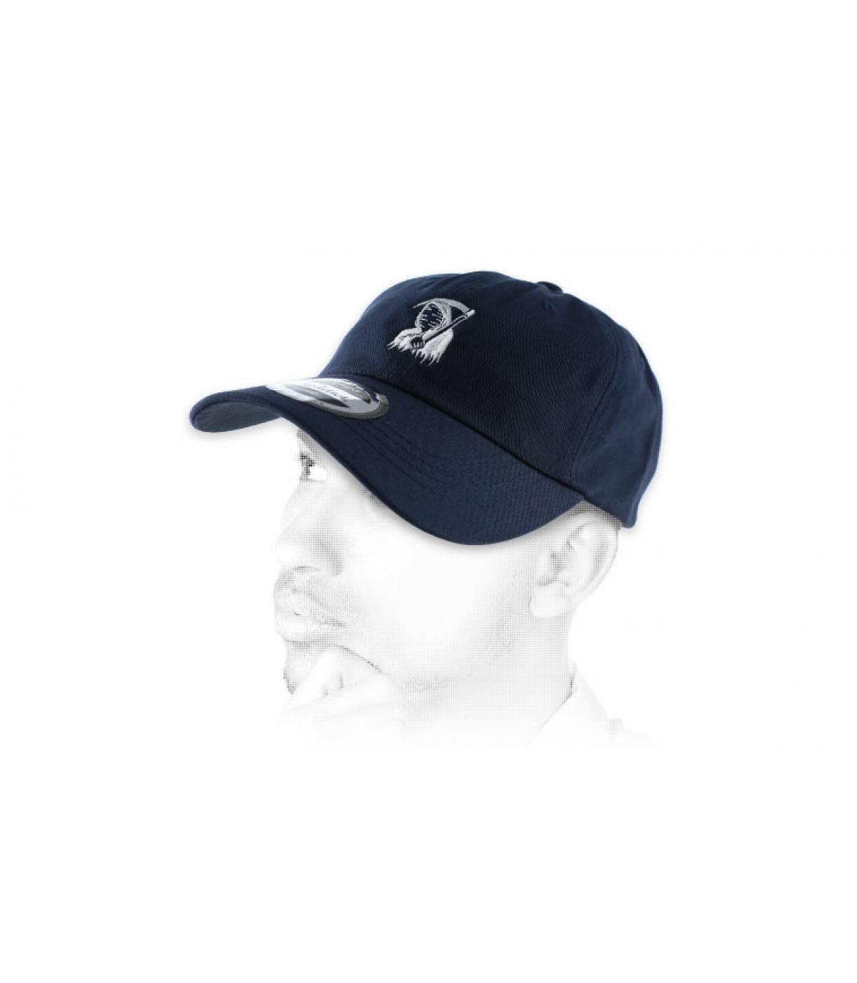 blue death curve cap