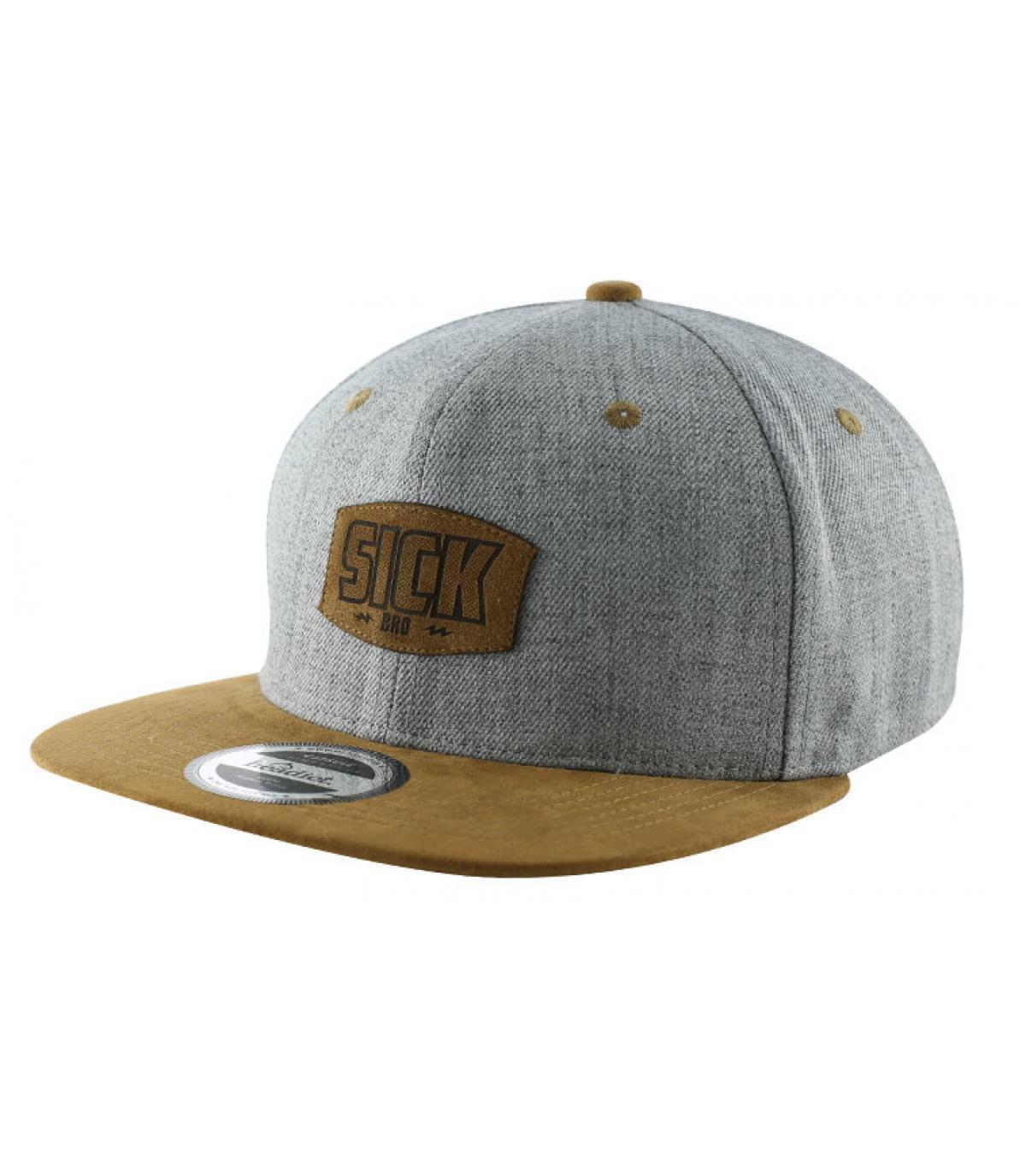 grey brown Sick snapback
