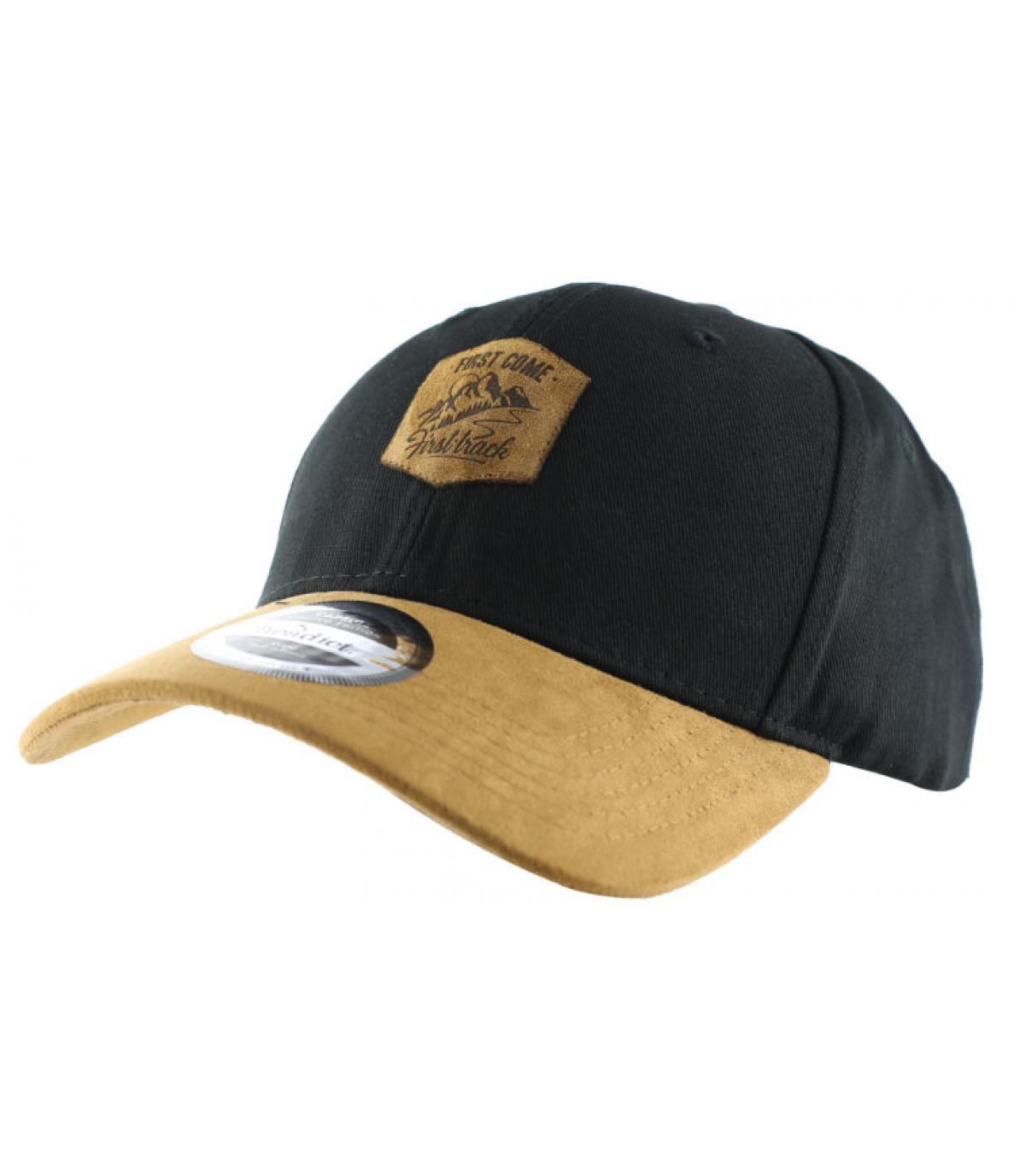 black First come cap