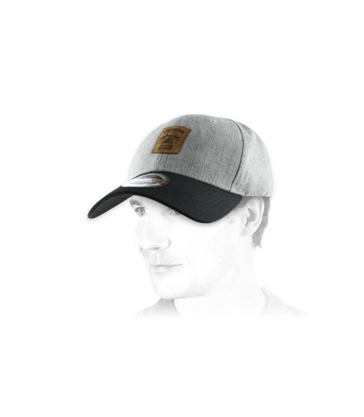 grey Chifoumi cap