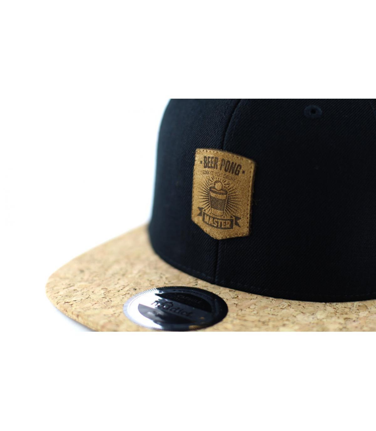 Détails Snapback Beer Pong black cork - image 3