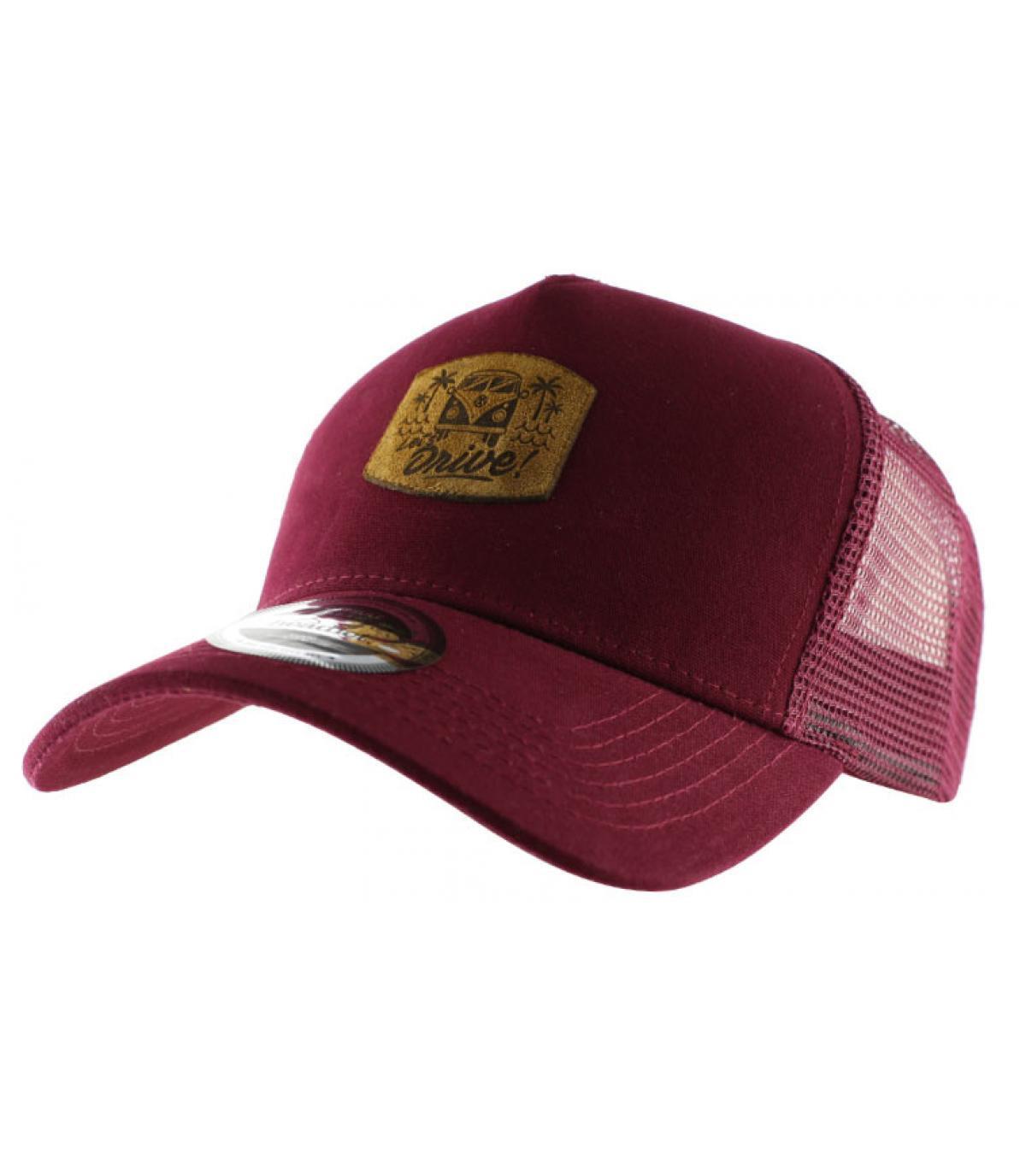 burgundy Drive curve cap
