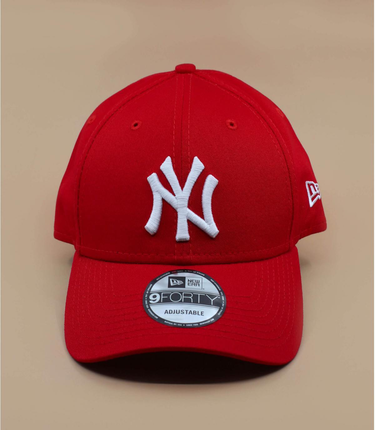 Adjustable red cap