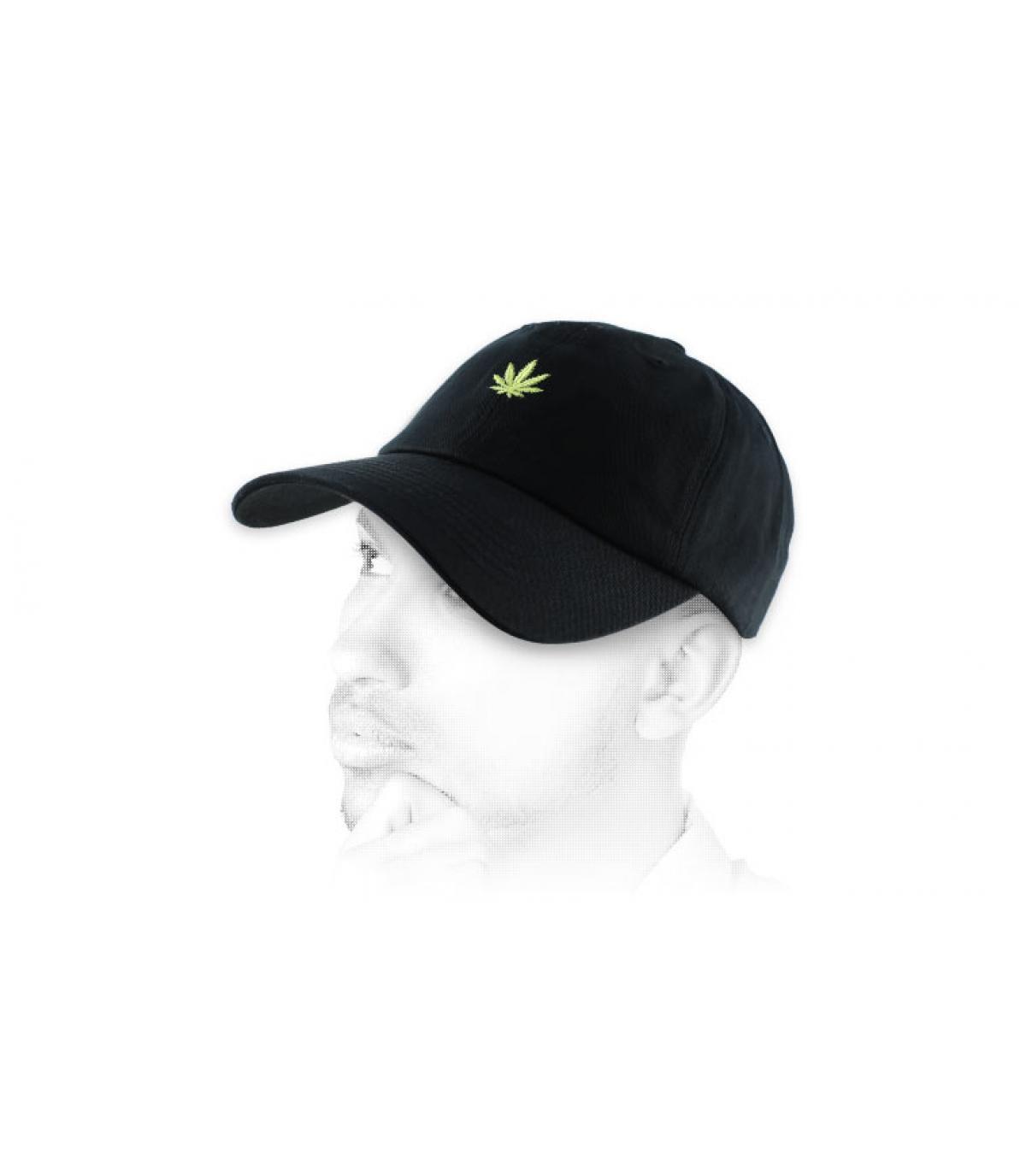 black weed cap