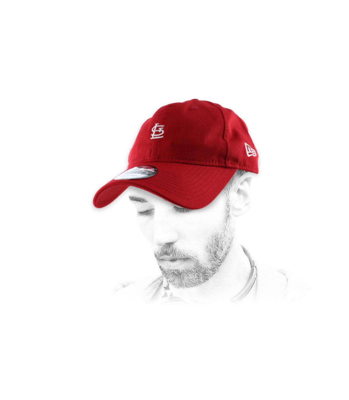 red St Louis cap