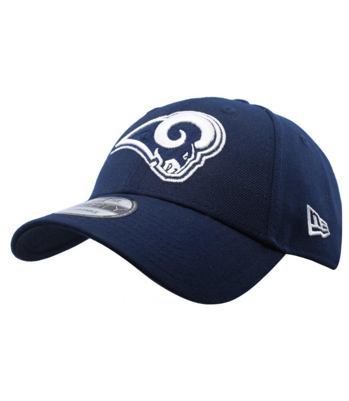 fa73c3c2 blue Rams curve cap - NFL The League Rams Team by New Era. Headict