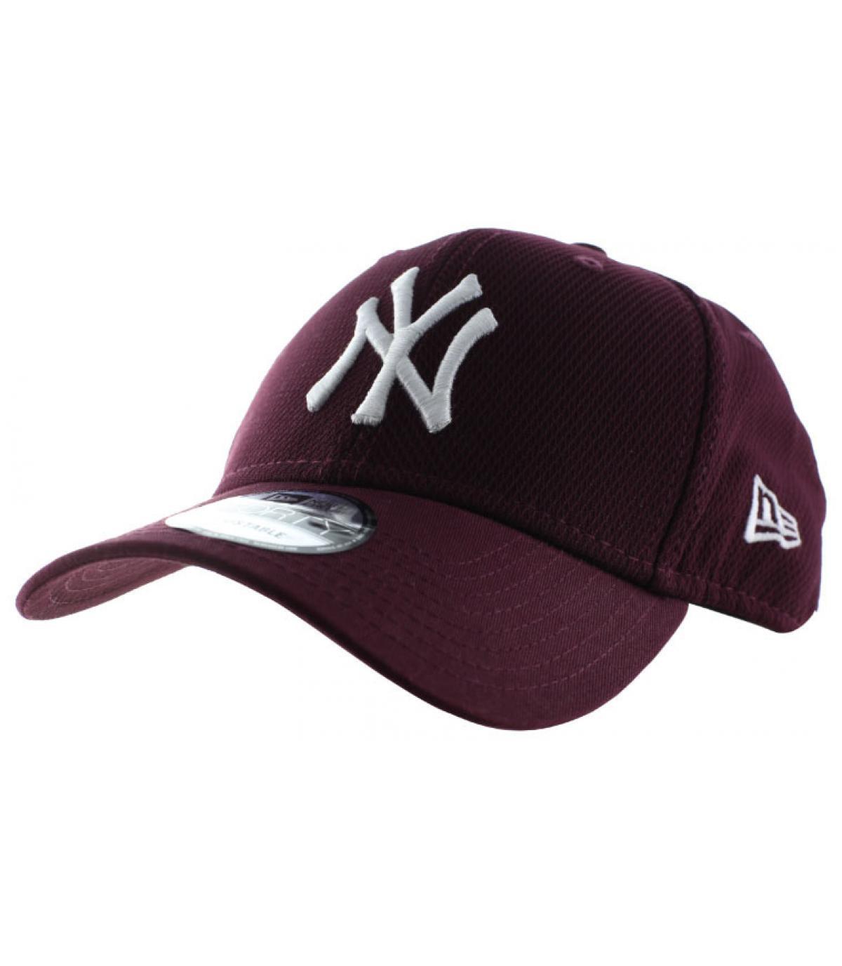 74543017 burgundy NY diamond cap - Diamond Era Ess NY maroon by New Era. Headict
