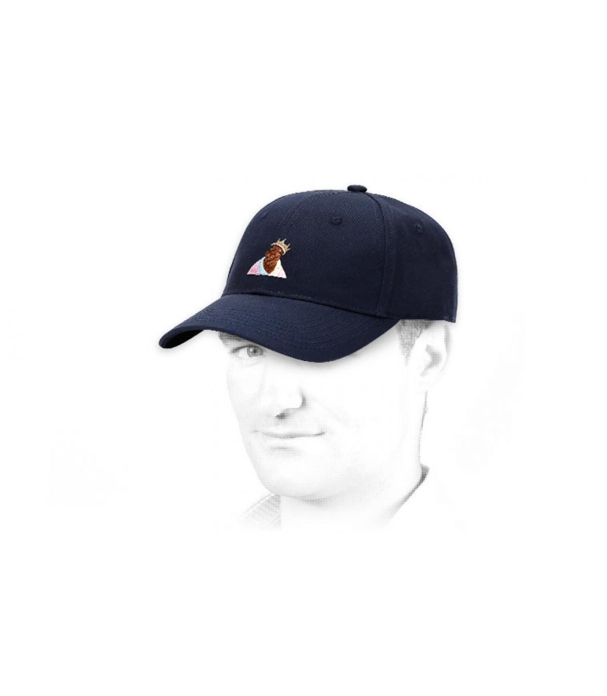 Cayler blue curve cap