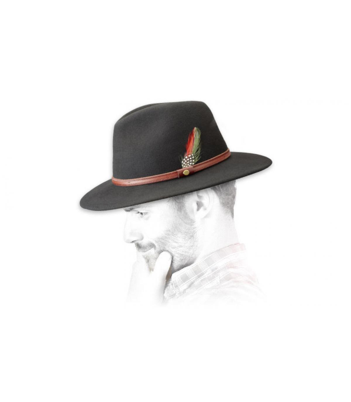 Olive Stetson Hats Rantoul Fedora Hat