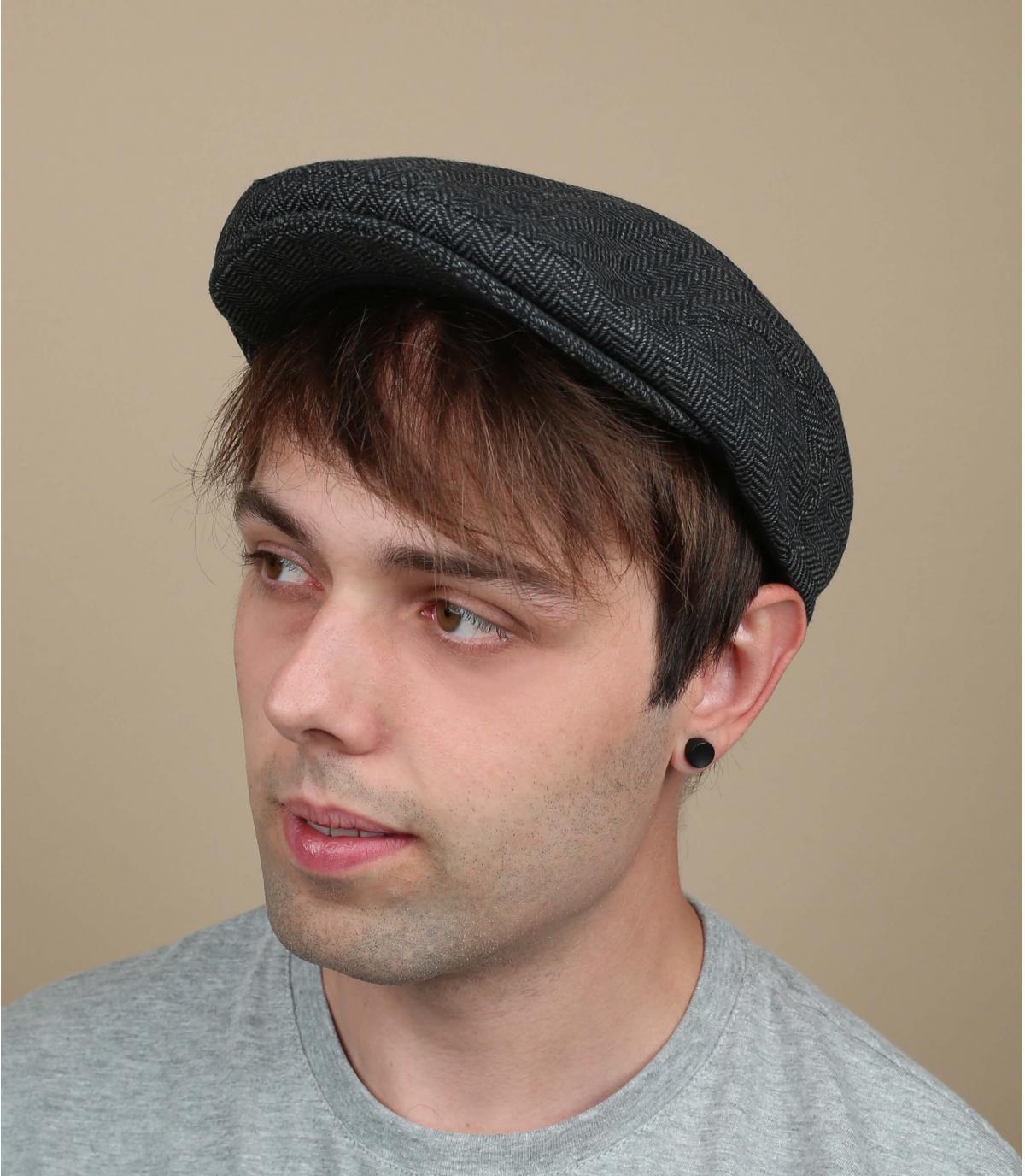grey brixton ivy cap