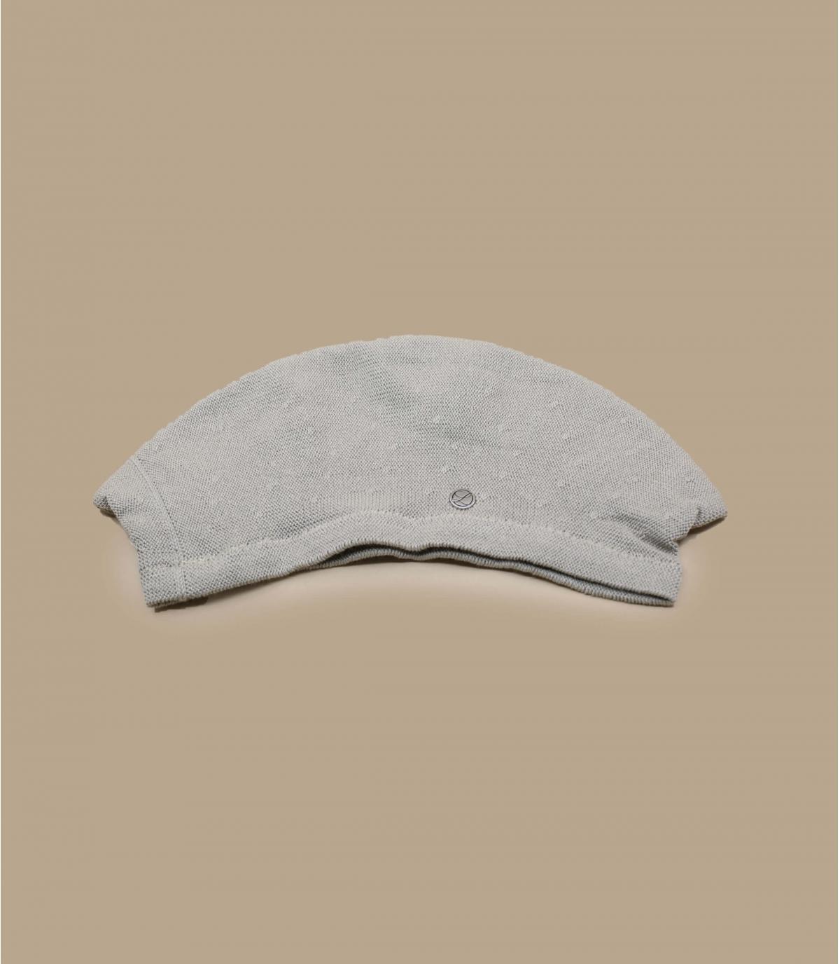 beige floppy beret Laulhère