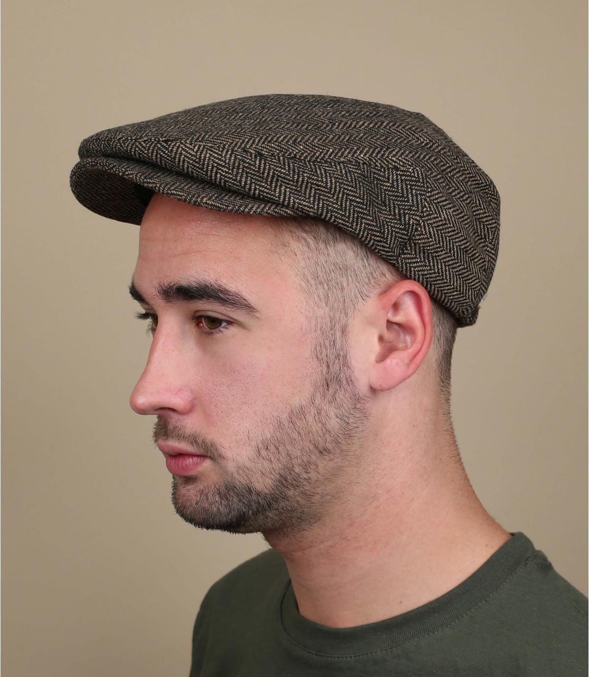 Khaki warm beret