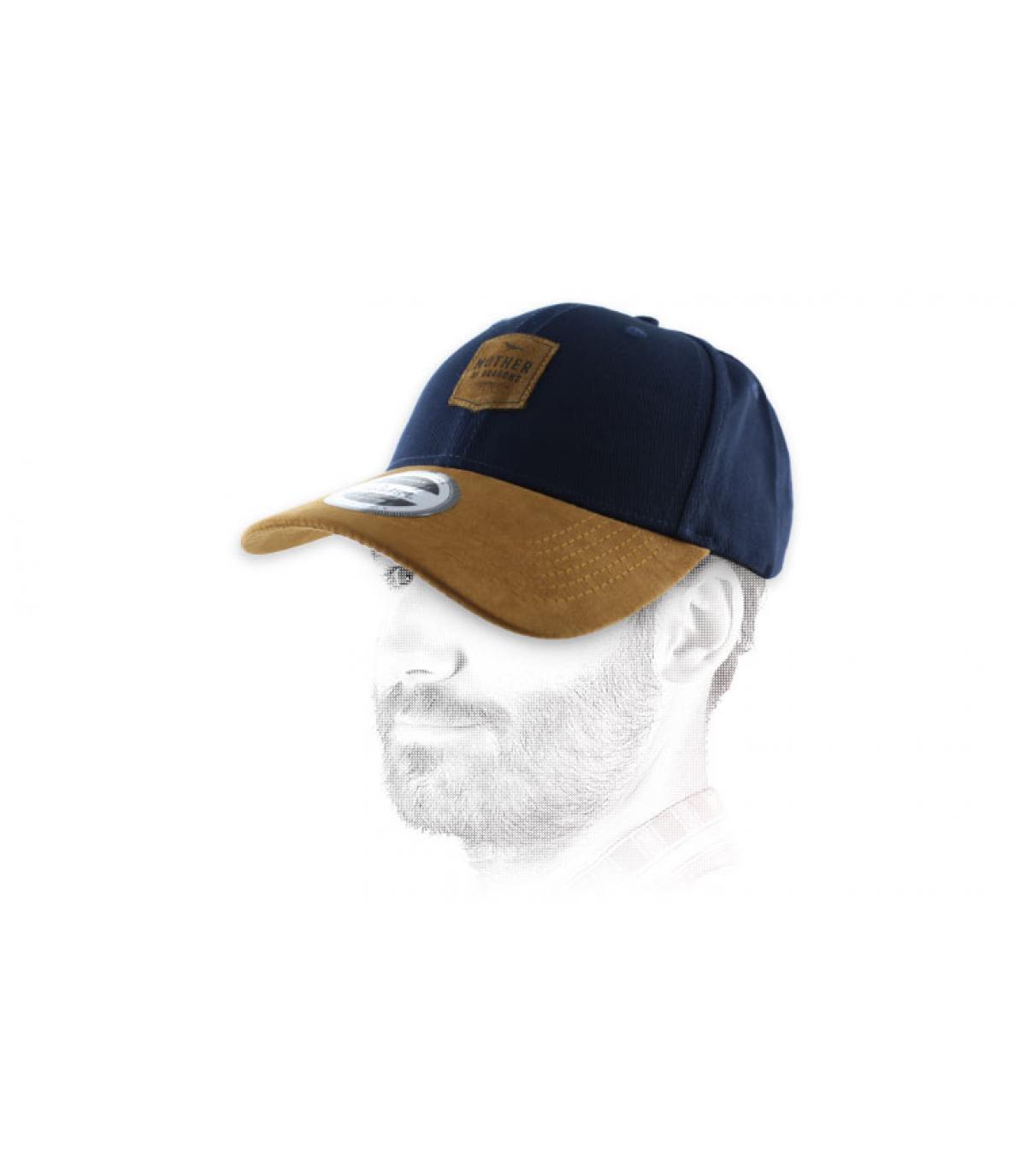 Daenerys blue curve cap