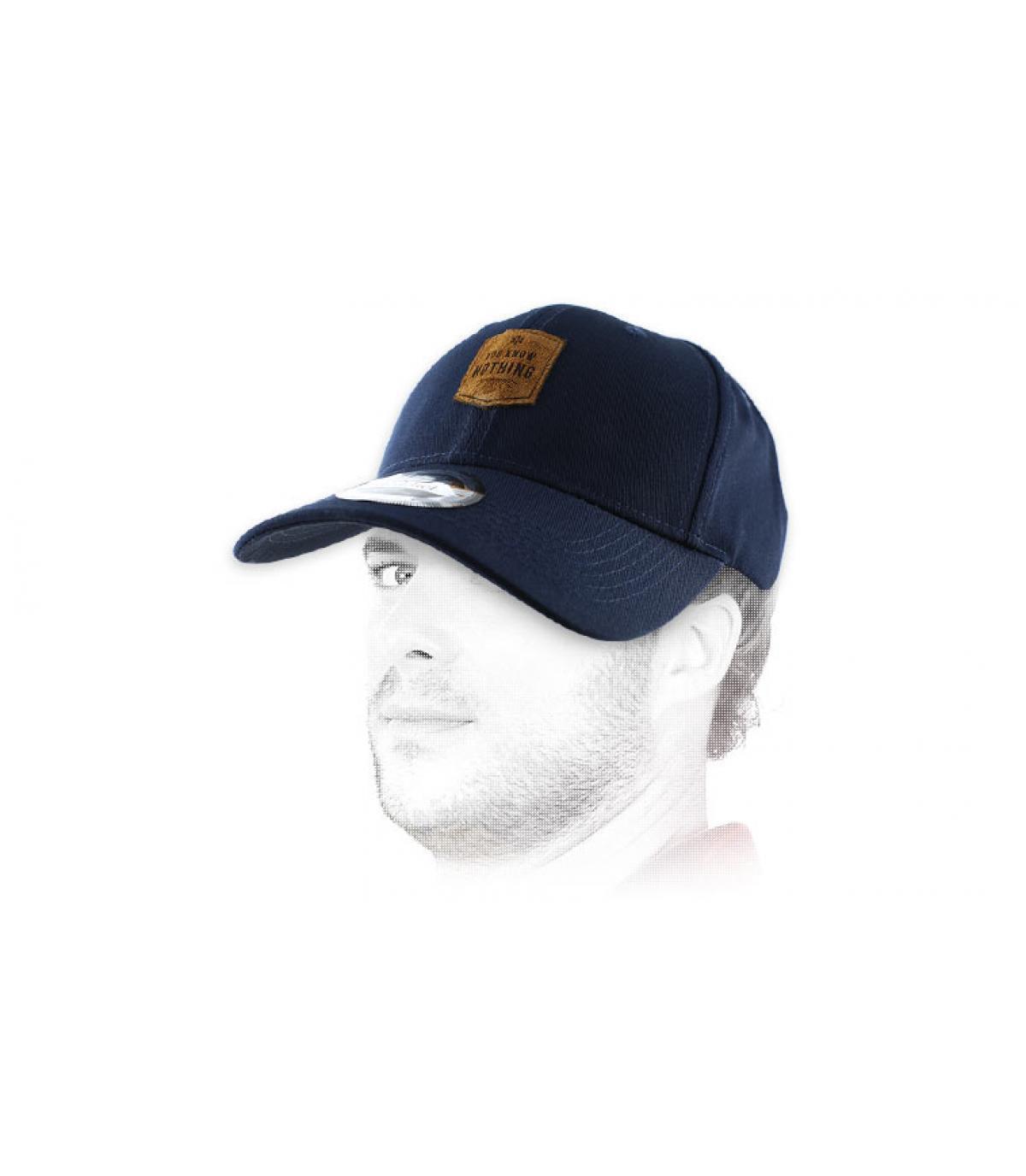 blue Ygritte curve cap