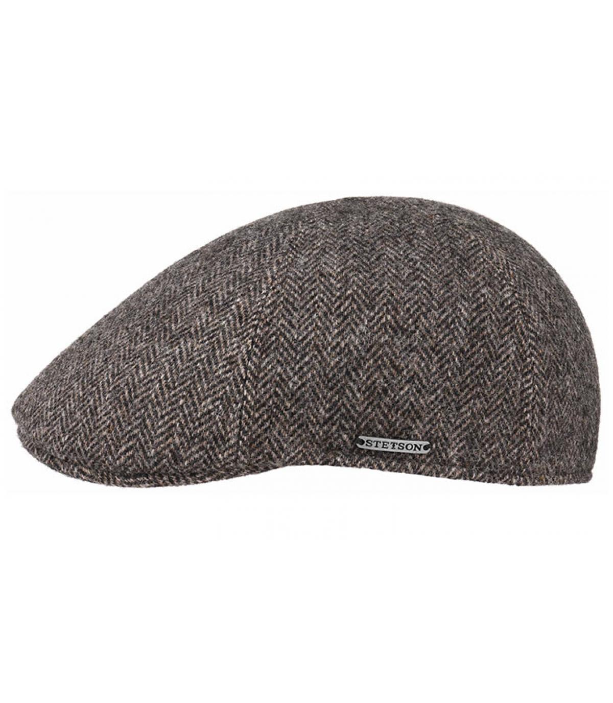 grey Stetson duckbill cap