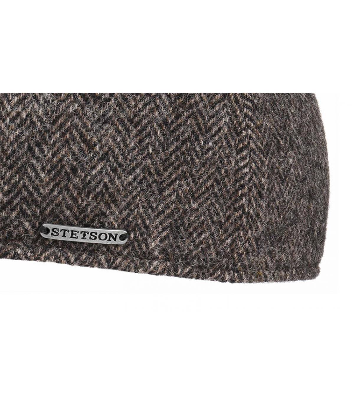Détails Texas Woolrich Herringbone grey - image 3