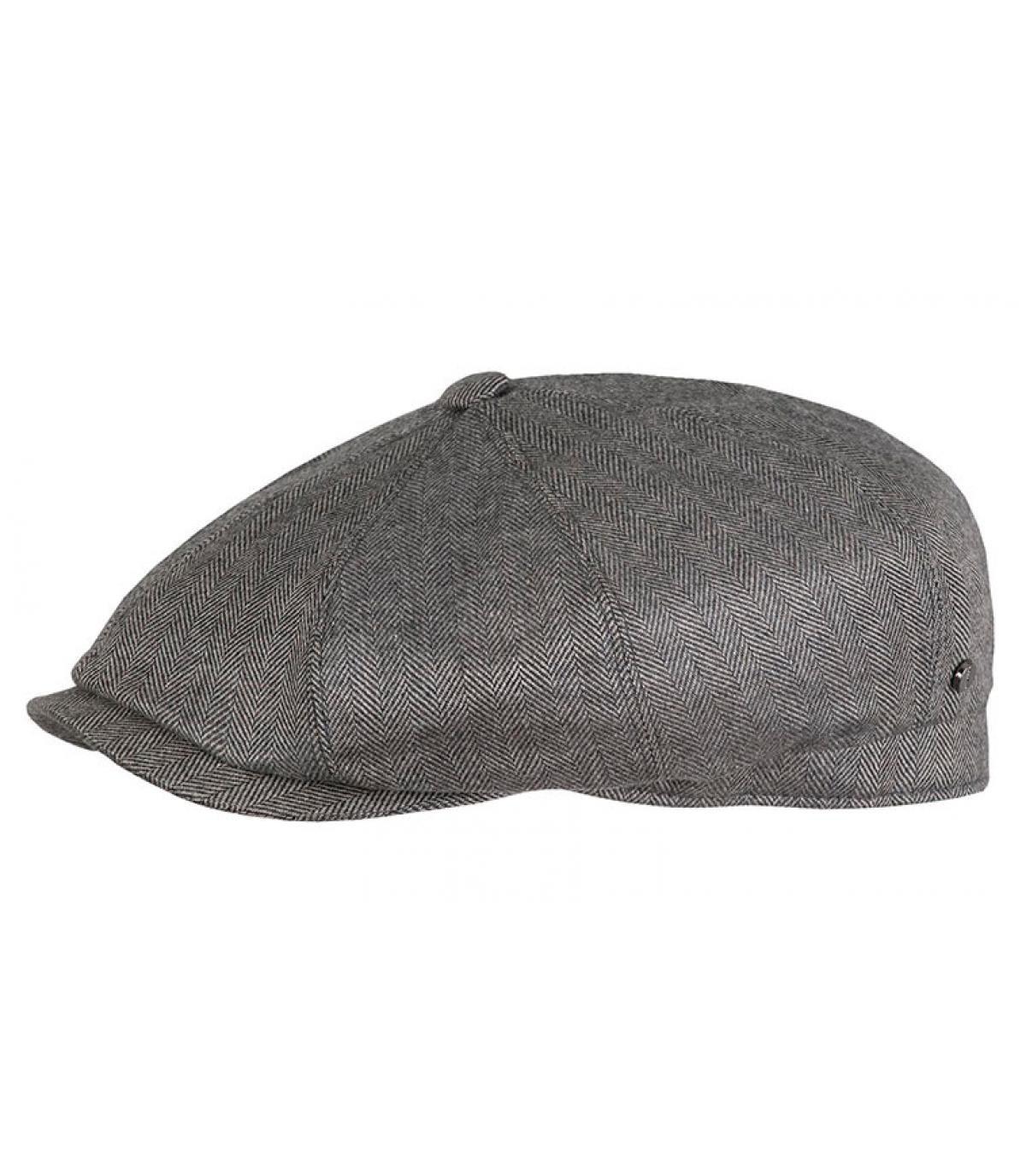 grey flat cap wool silk - Hatteras Wool Cashmere Silk grey by ... 4dd9b4e37e38