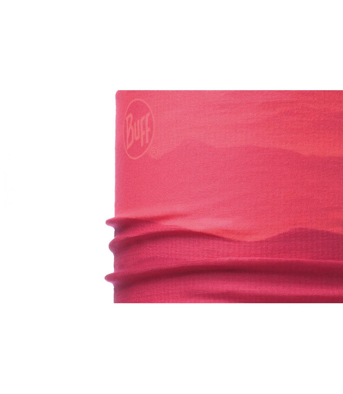 faded pink Buff snood