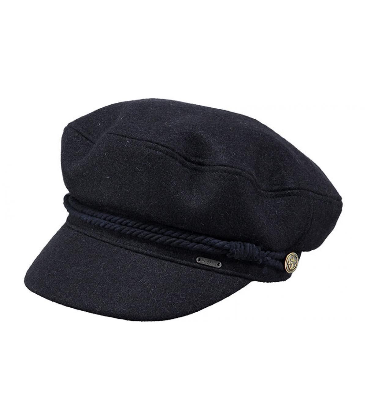 1a505a3e5c9 Barts blue nautical cap - Skipper Cap navy by Barts. Headict