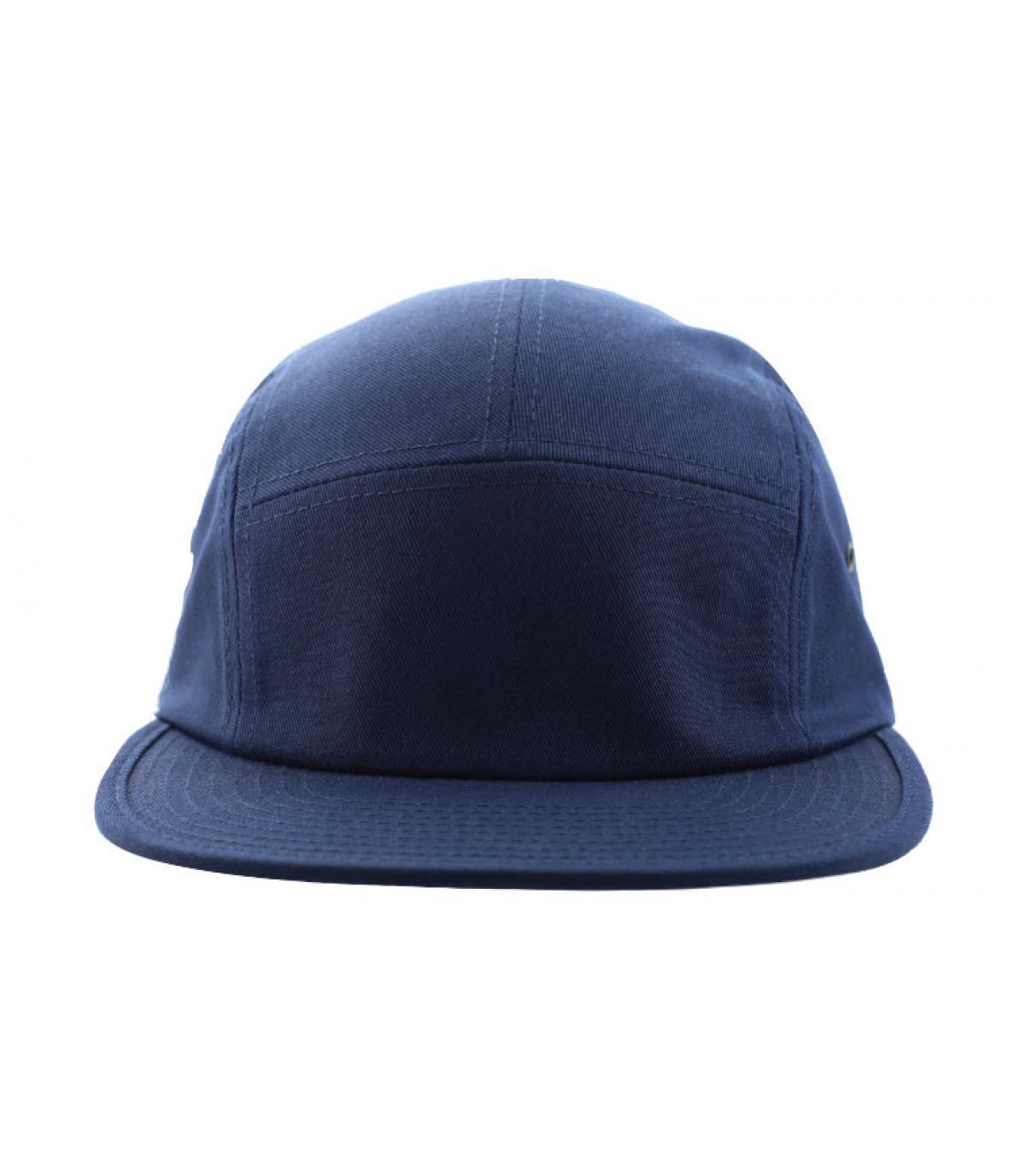 Navy 5 panel cap