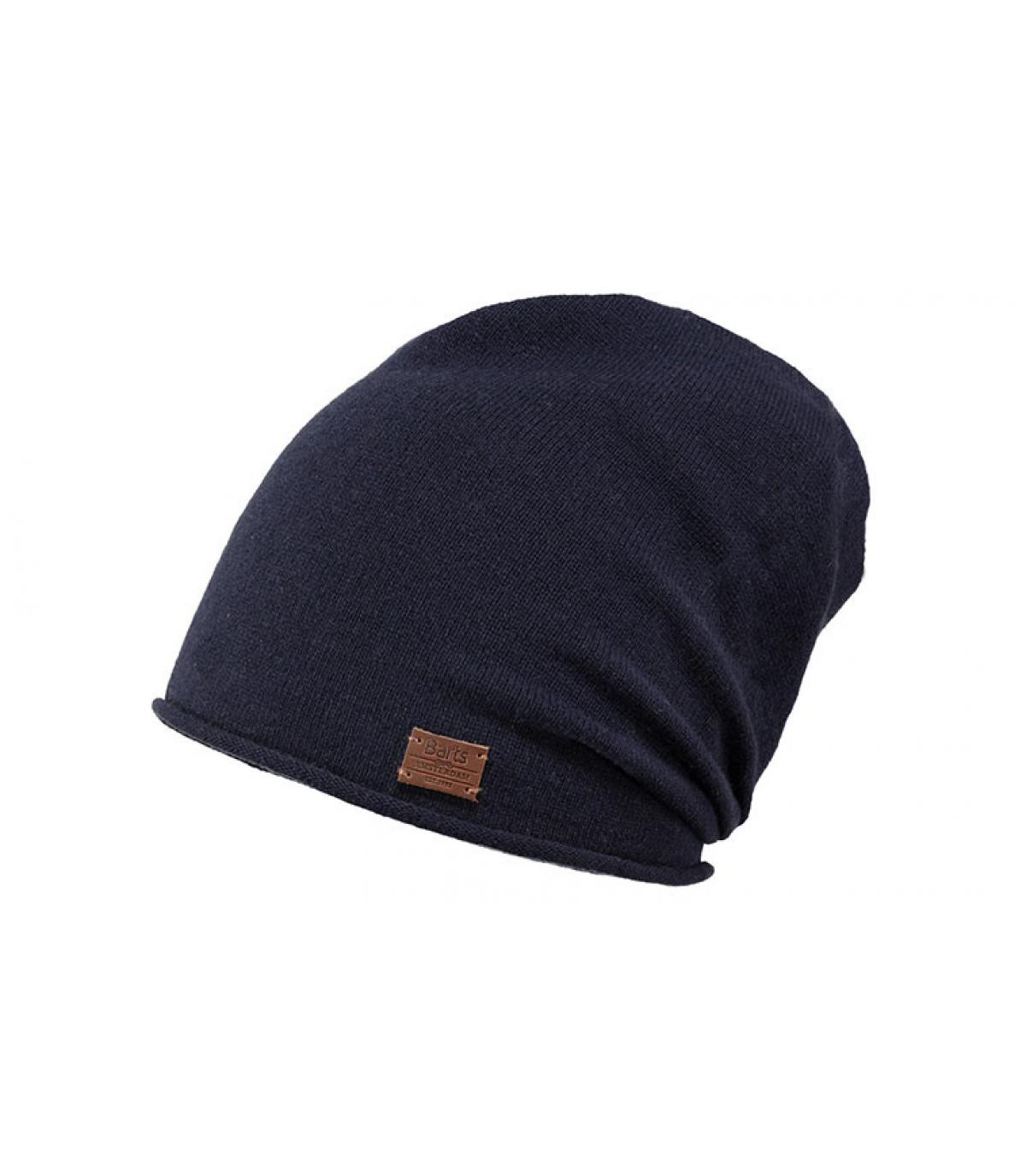cheap good selling sale blue long beanie cashmere - Romeo Beanie navy by Barts. Headict