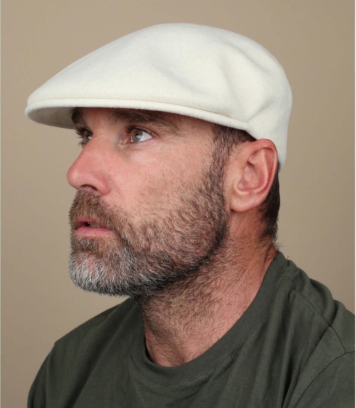 White 504 ivy cap