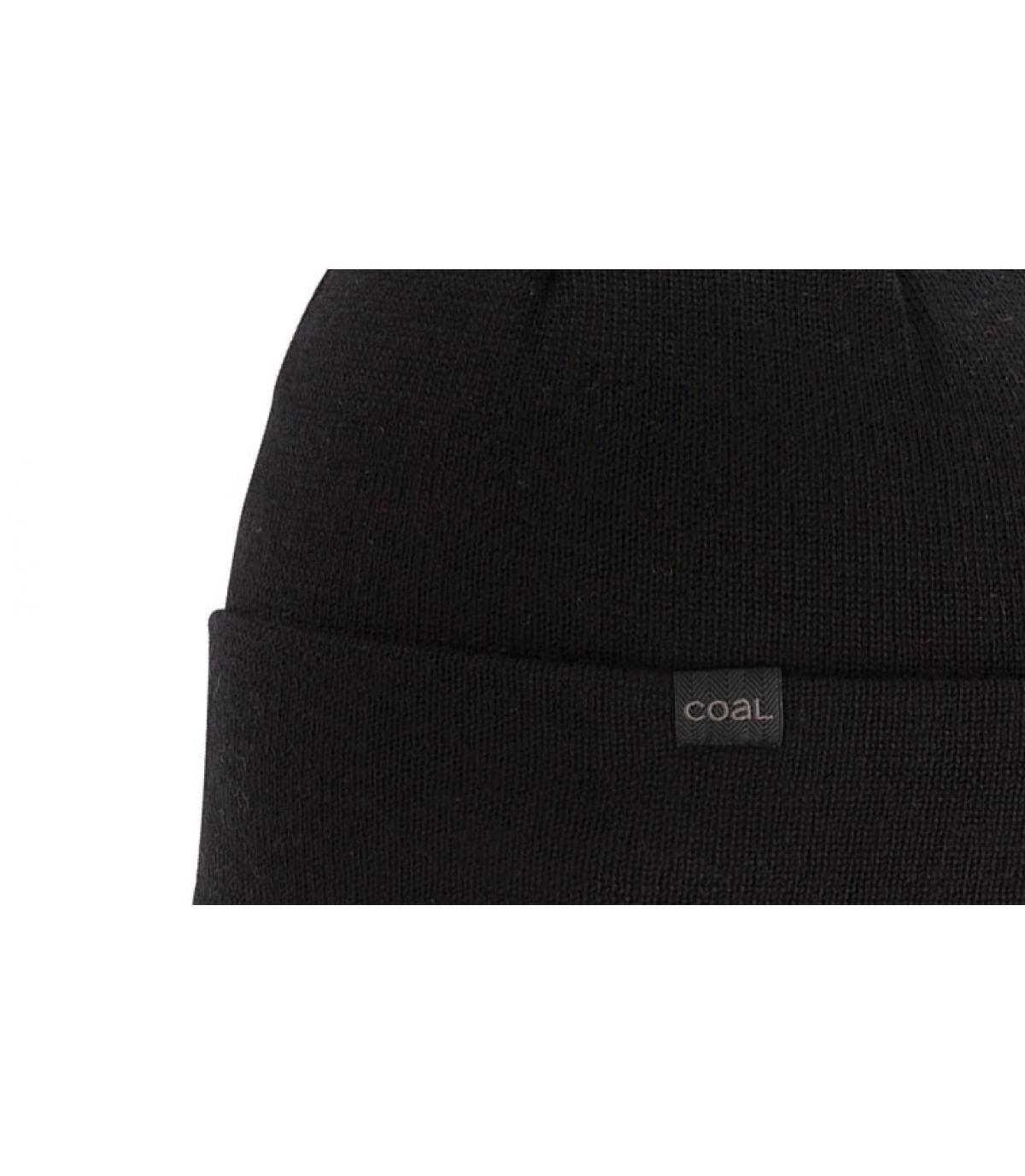 Coal black merino beanie - The Mesa black by Coal. Headict 1c7c798fdb40