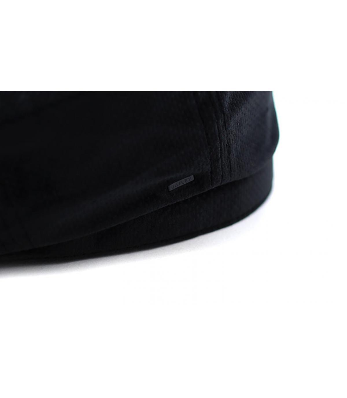15050060607 Bailey blue newsboy cap. Détails Wyman black dot - image 3 ...