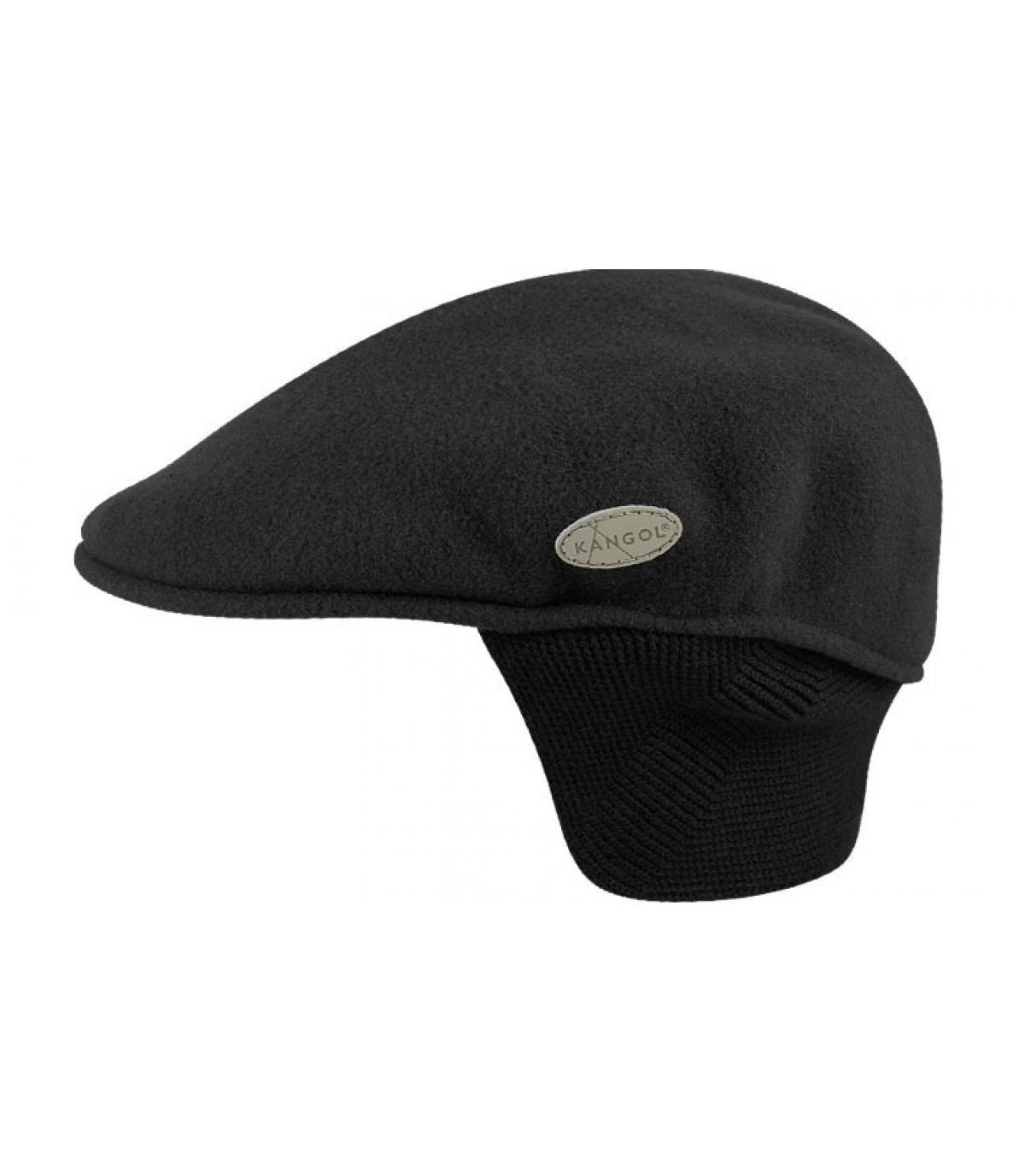 Détails 504 wool earflap black - image 3