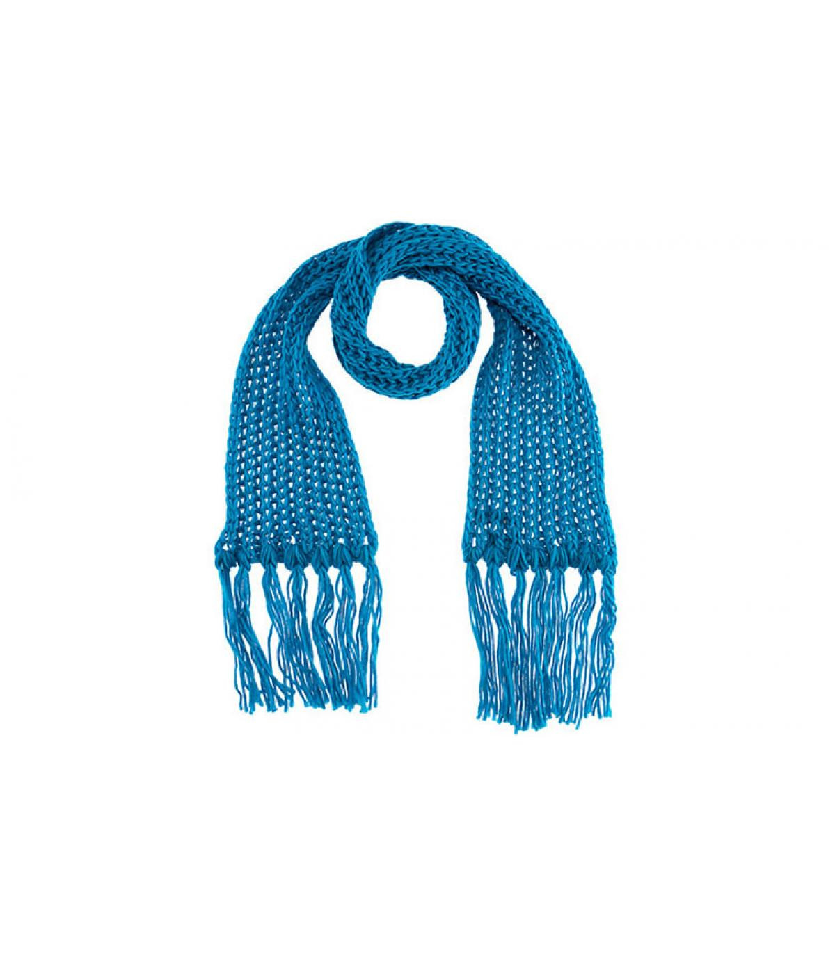 Turquoise scarf passigatti