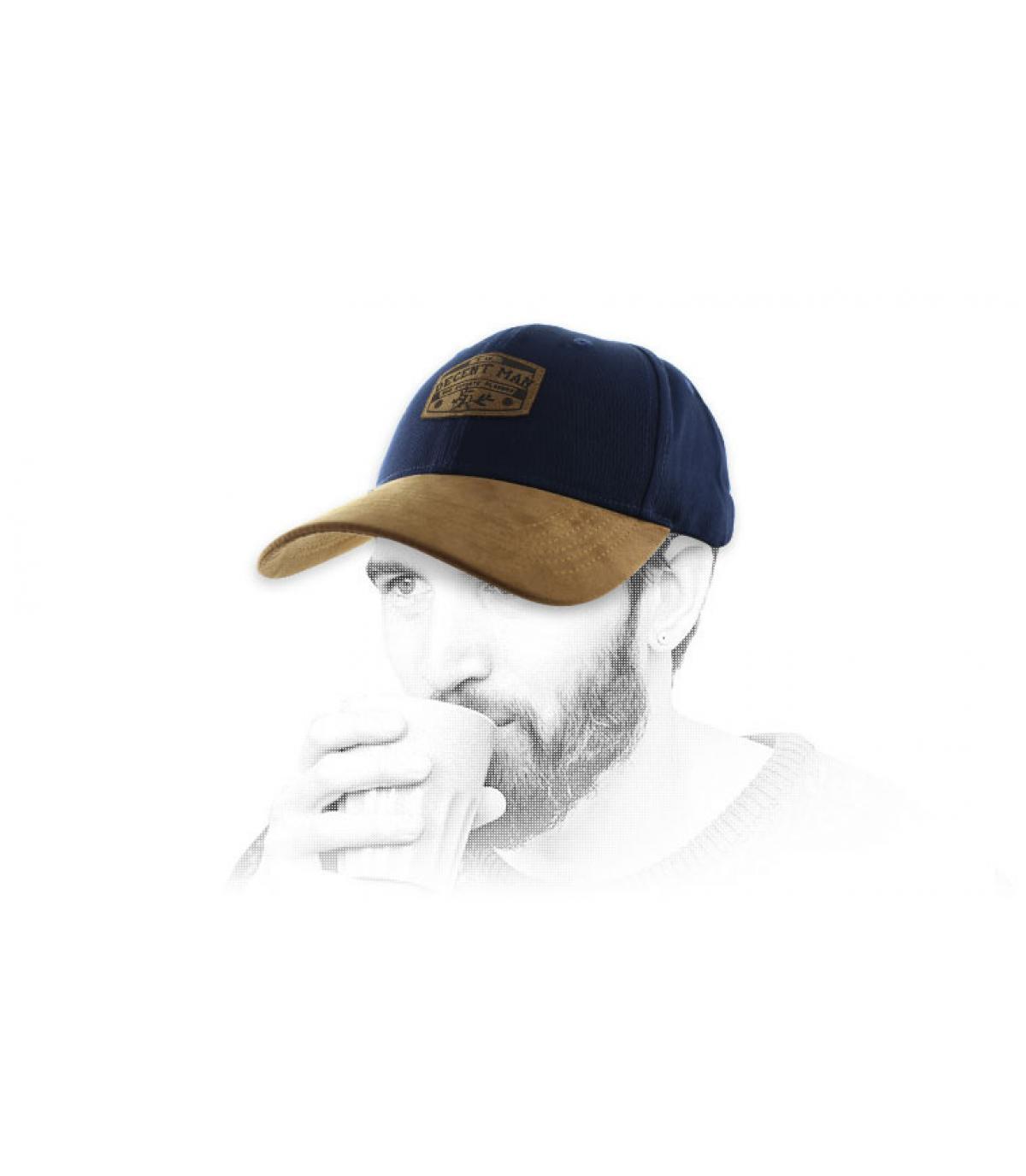 blue Decent man cap