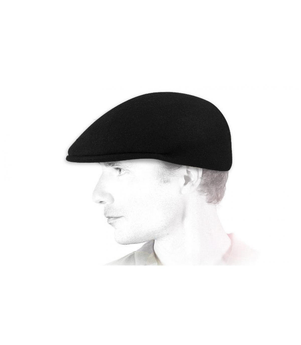 Visor felt ivy cap