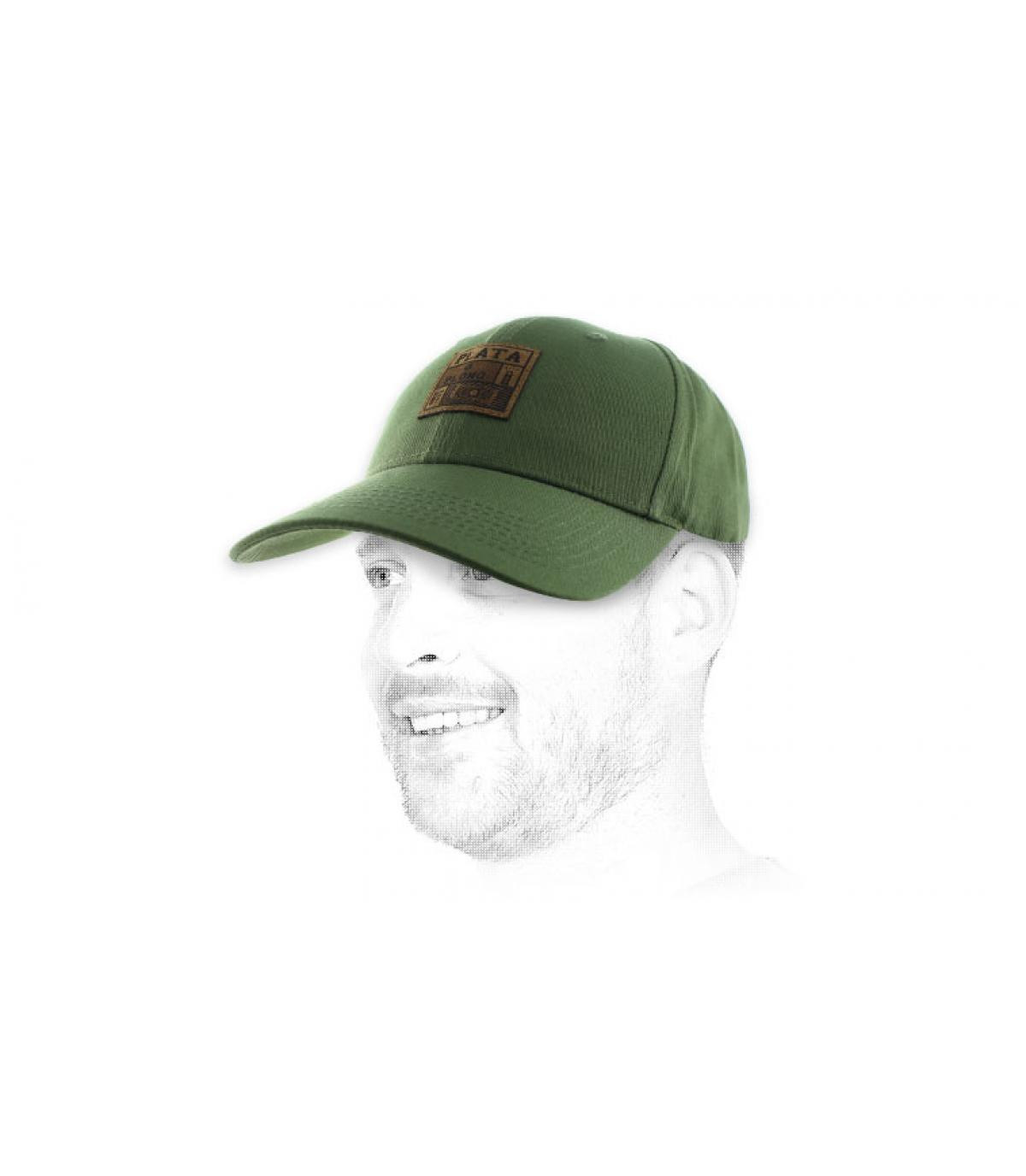 green cap plata o plomo