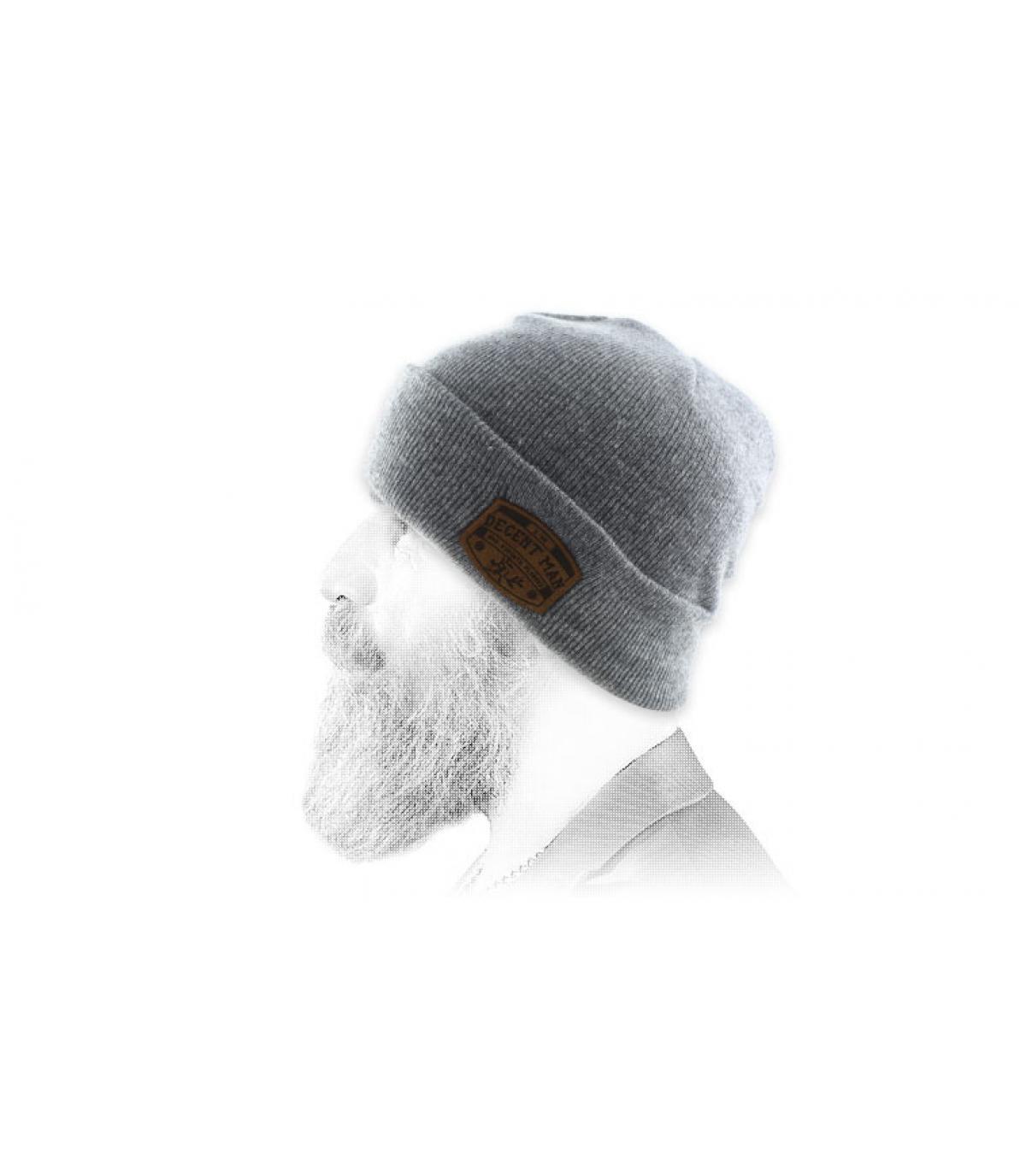 grey Decent Man beanie