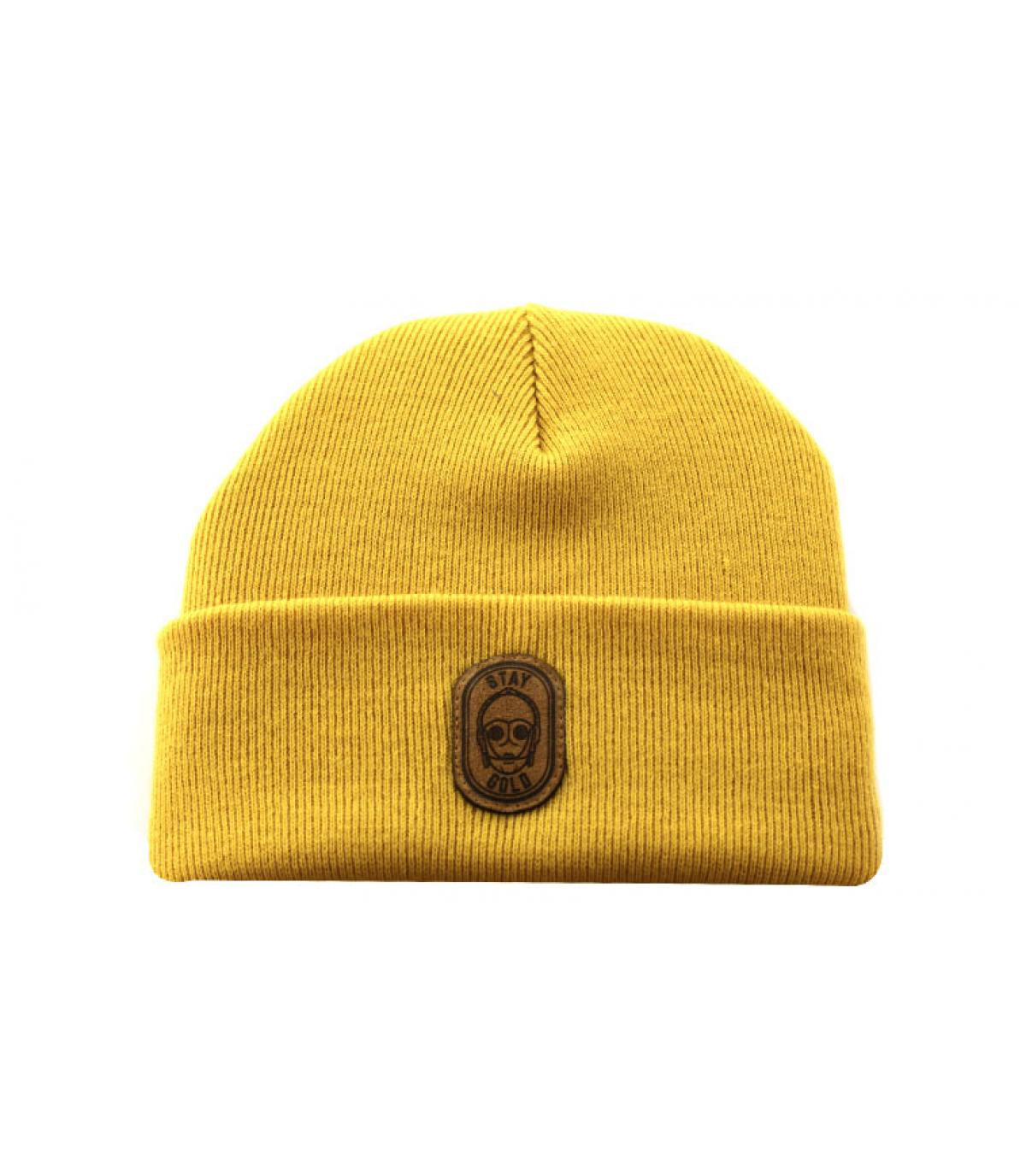 Détails Beanie Stay Gold mustard - image 2