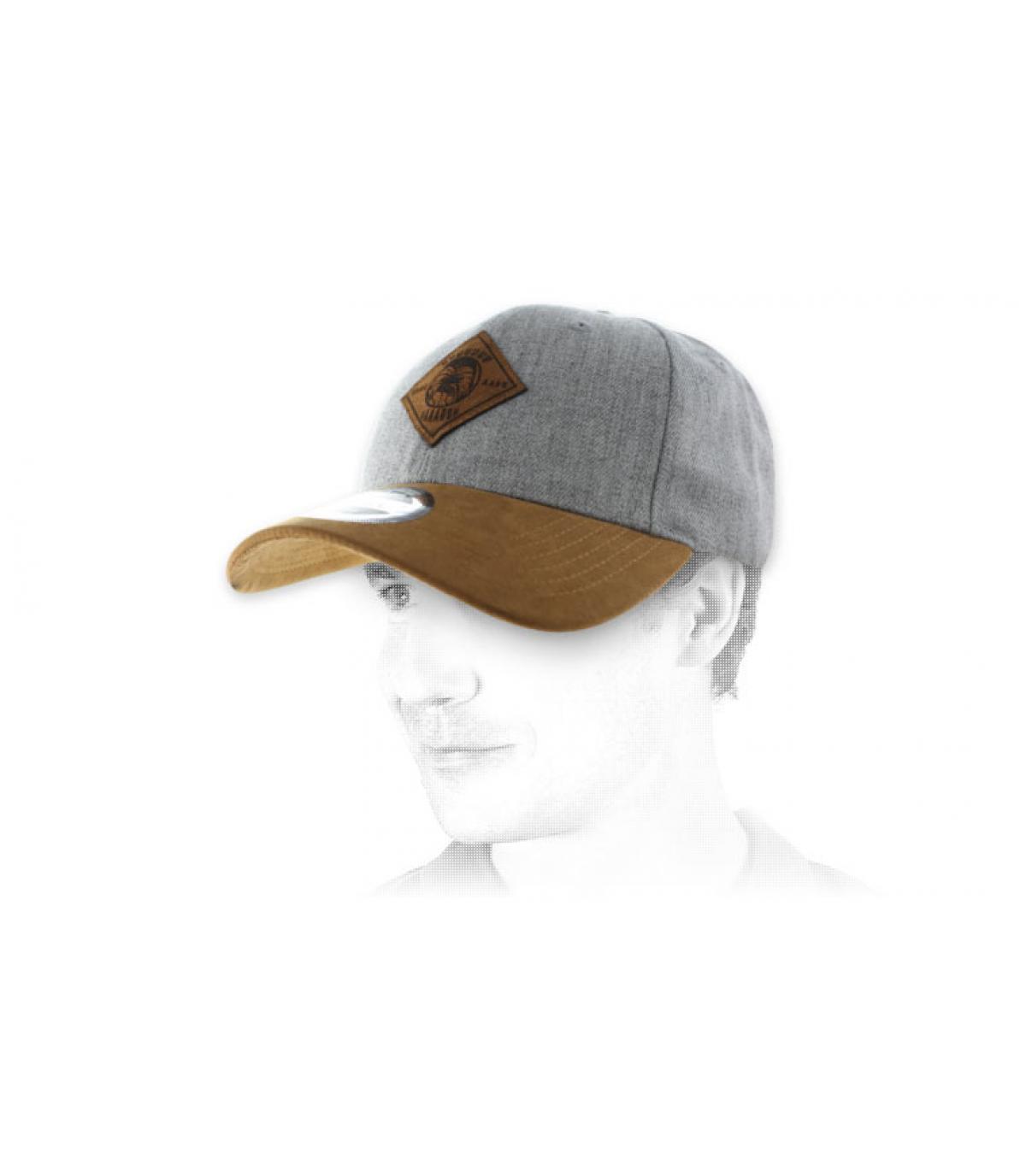 grey Aaaaaargh cap