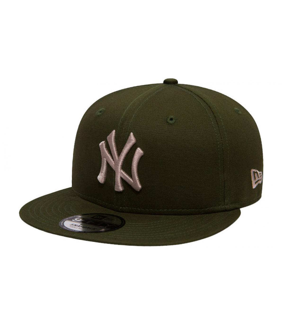 NY snapback green grey - League Ess 9Fifty NY rifle green stone by ... 908bca94bf0