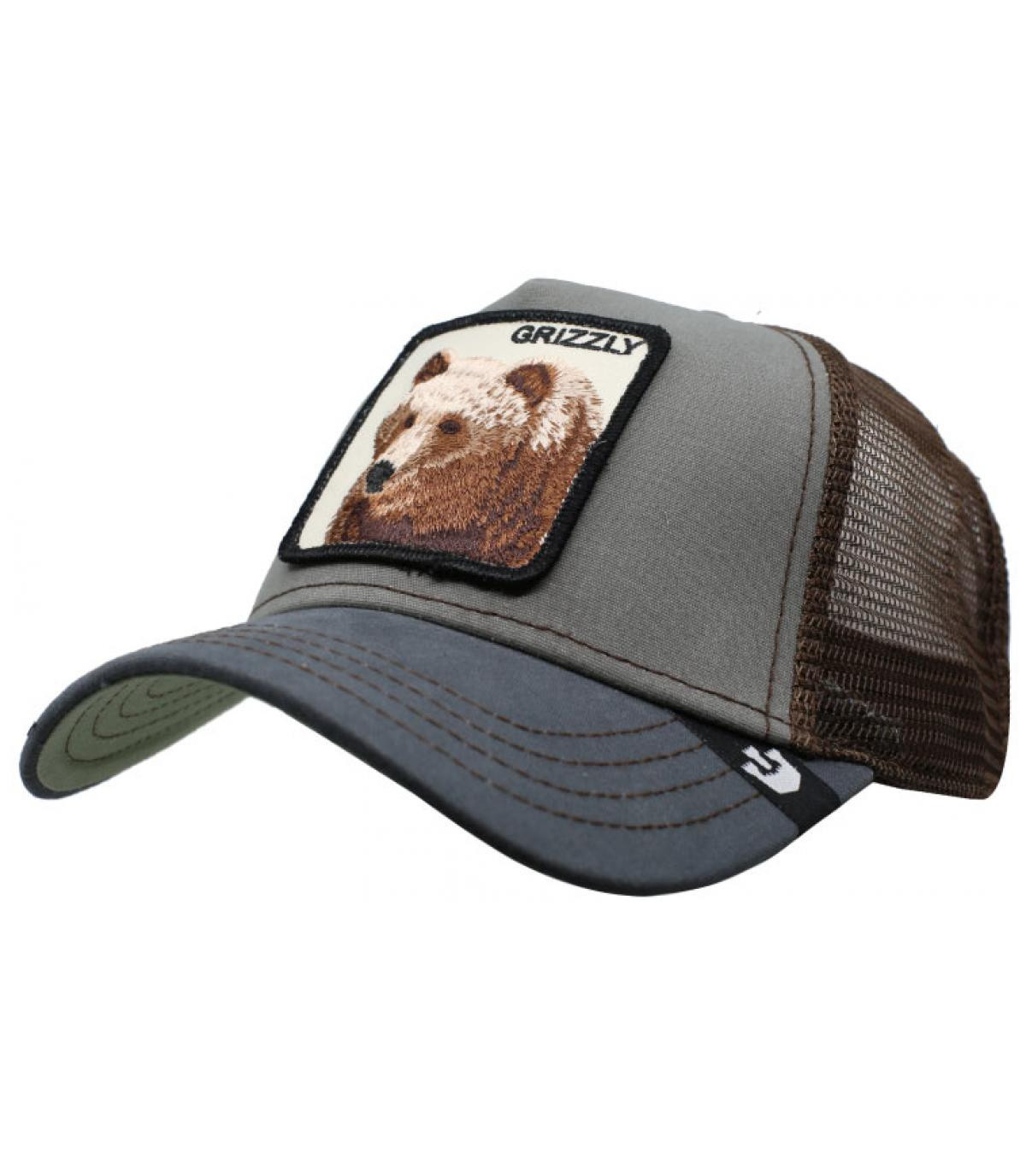 763c53068c9 green Grizzly trucker - Trucker Grizzly olive by Goorin. Headict