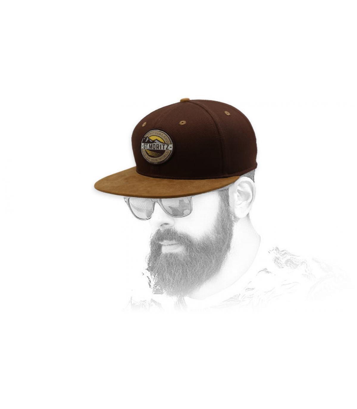 brown st moritz snapback