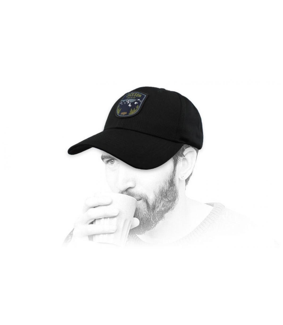 black jackson hole cap