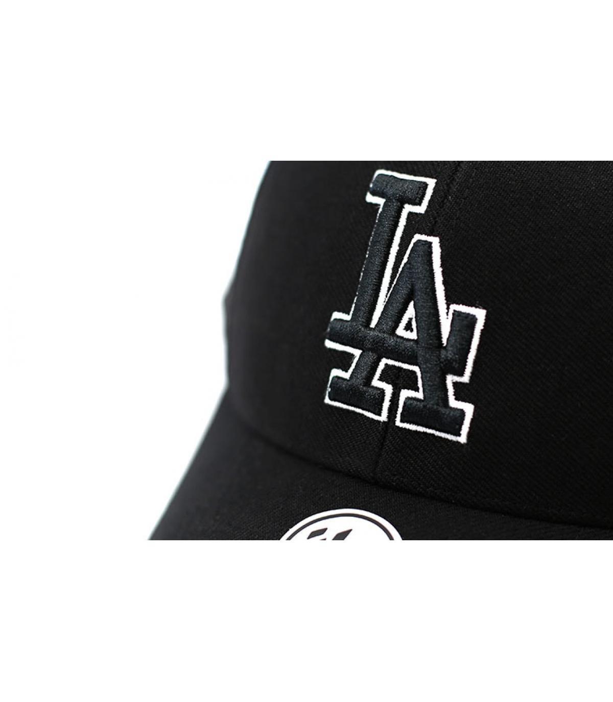 Détails MVP LA Snapback black white - image 3