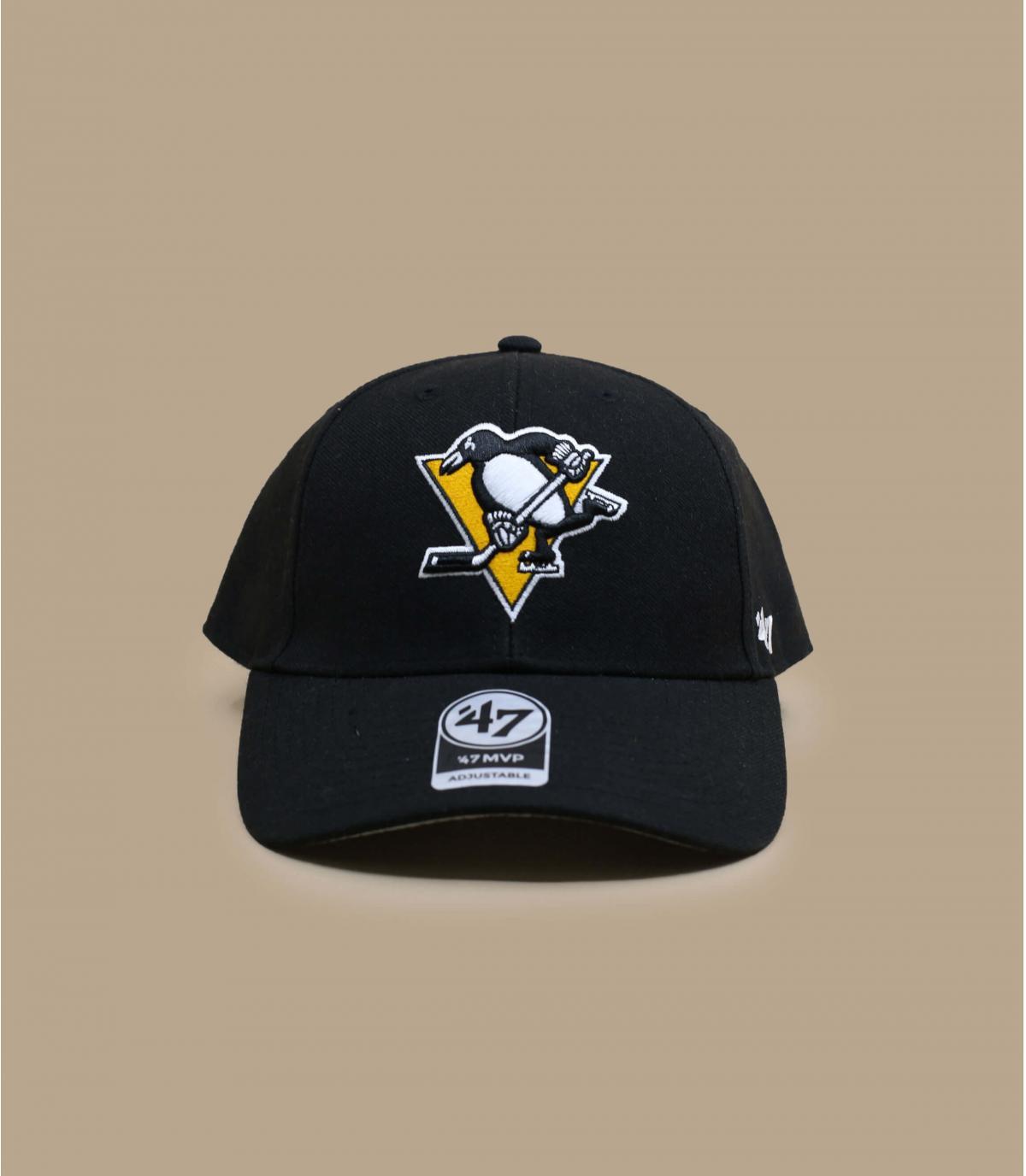 black Penguins cap