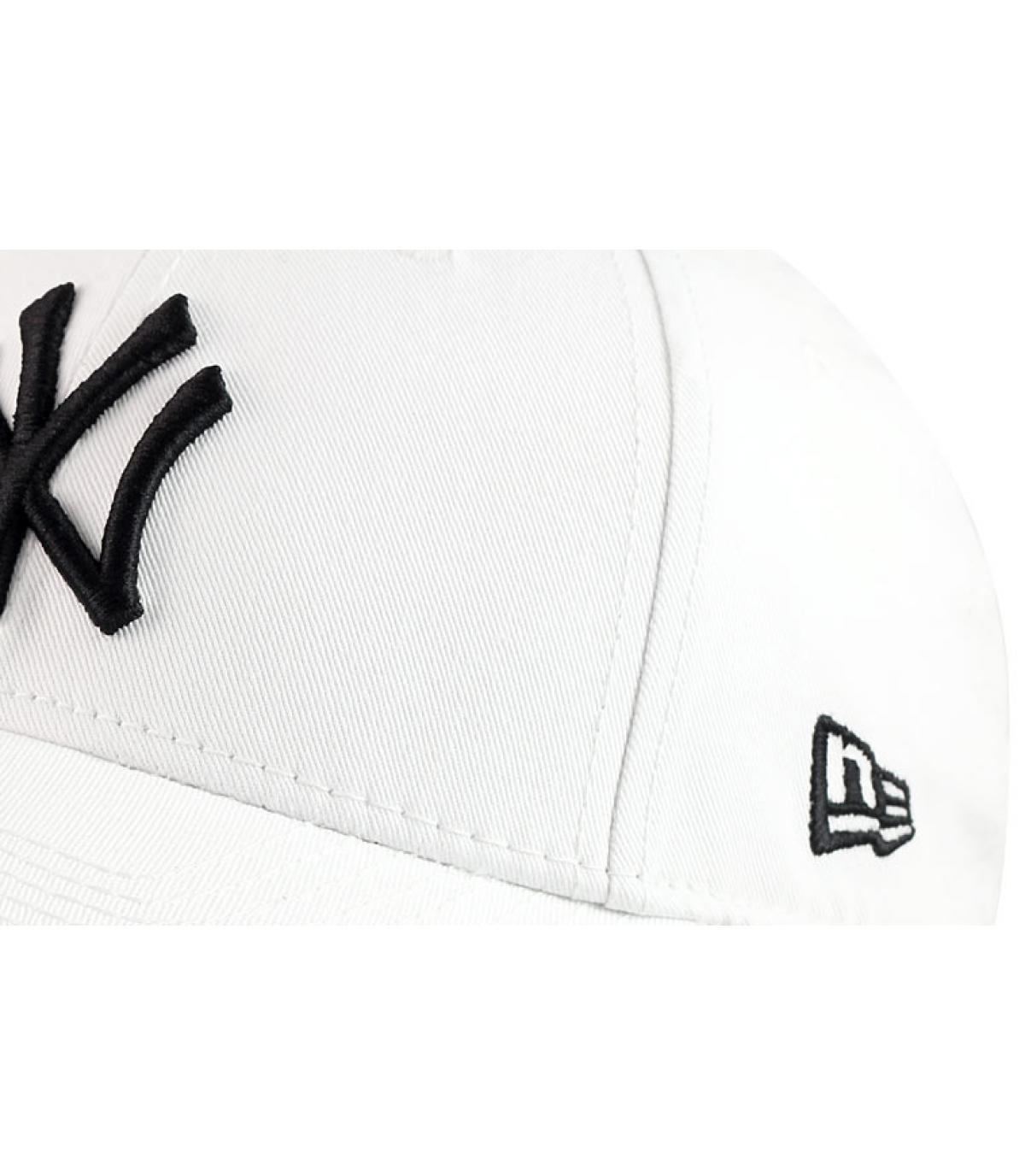 White trucker cap