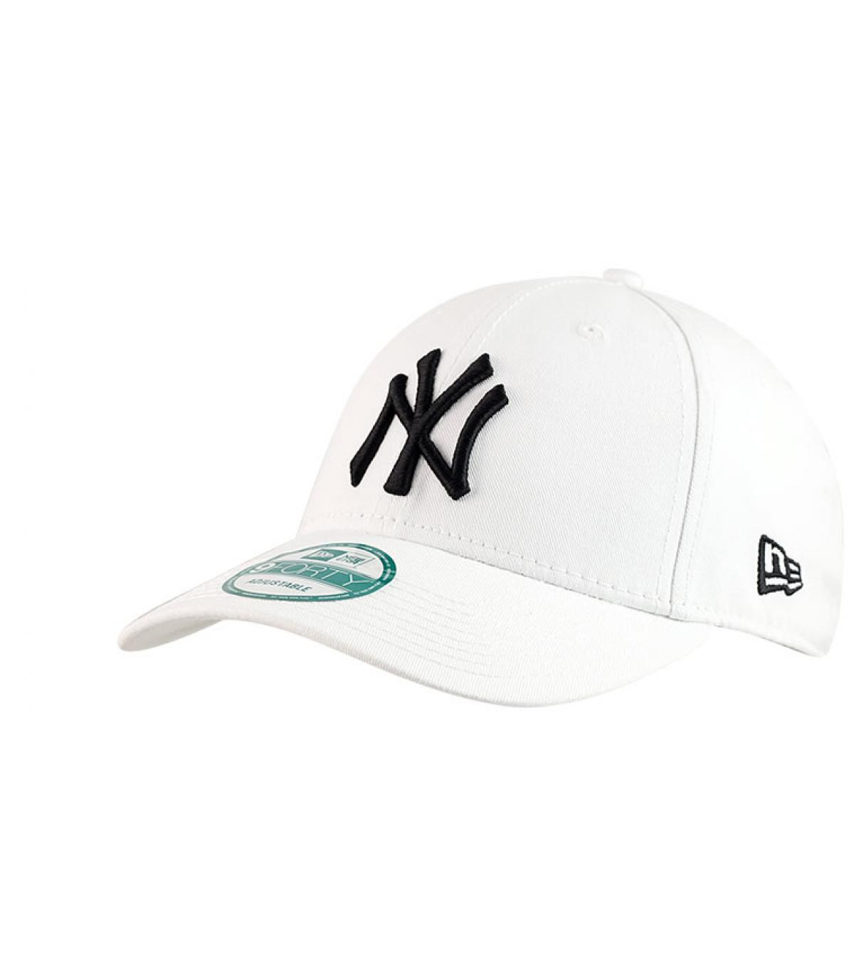 Détails White trucker NY fitted - image 3