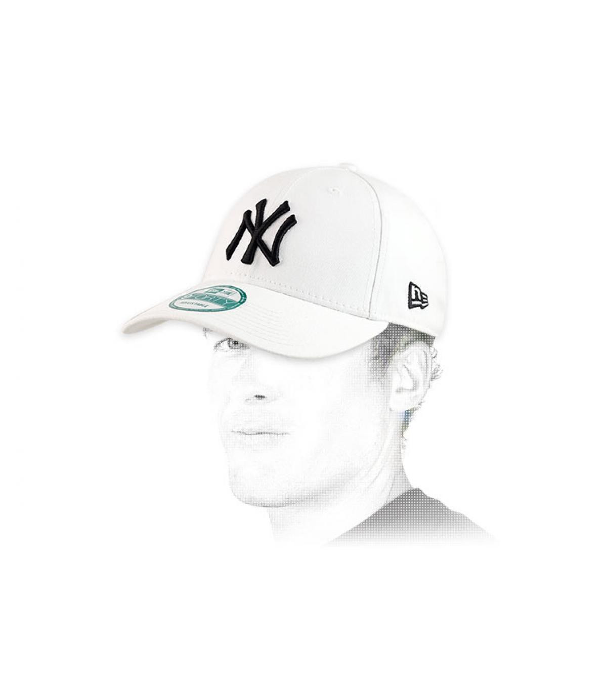 Détails White trucker NY fitted - image 5