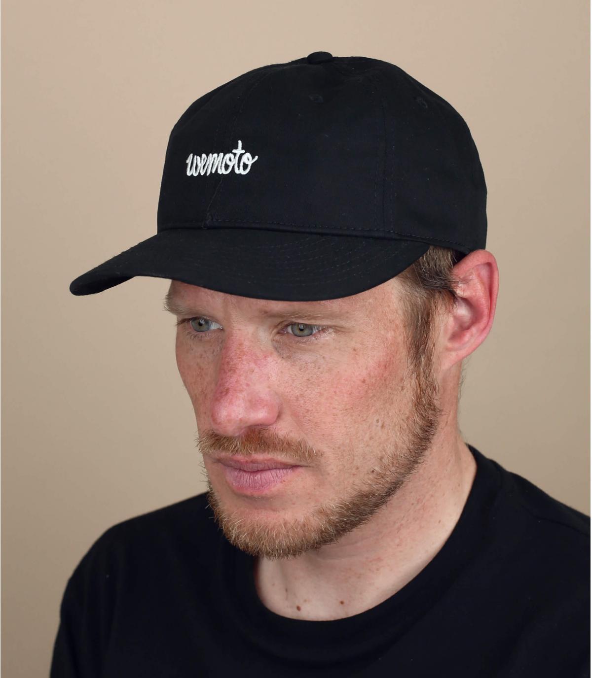 black Wemoto cap