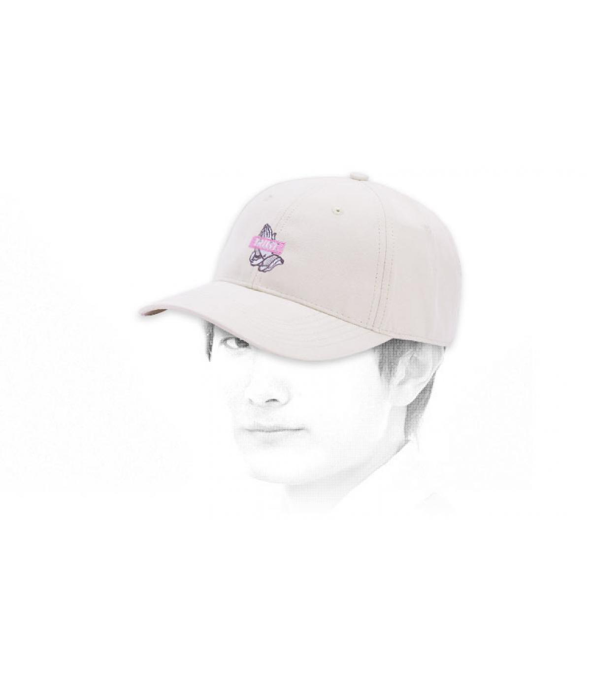 Cayler TRUST beige curve cap
