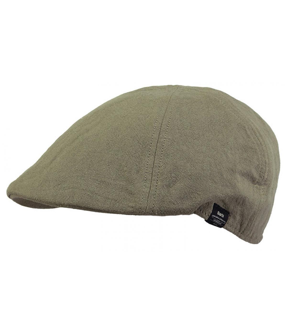 green cotton duckbill cap